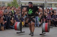 Patrik Baboumian 555 Kilogram World record