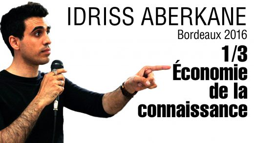 Idriss Aberkane – Economie de la connaissance